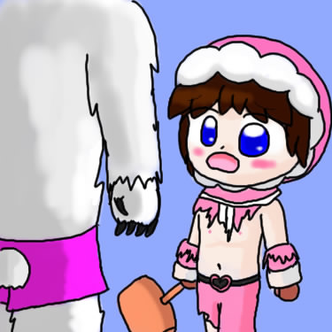 nana popo ice and climbers Pictures of mangle from fnaf