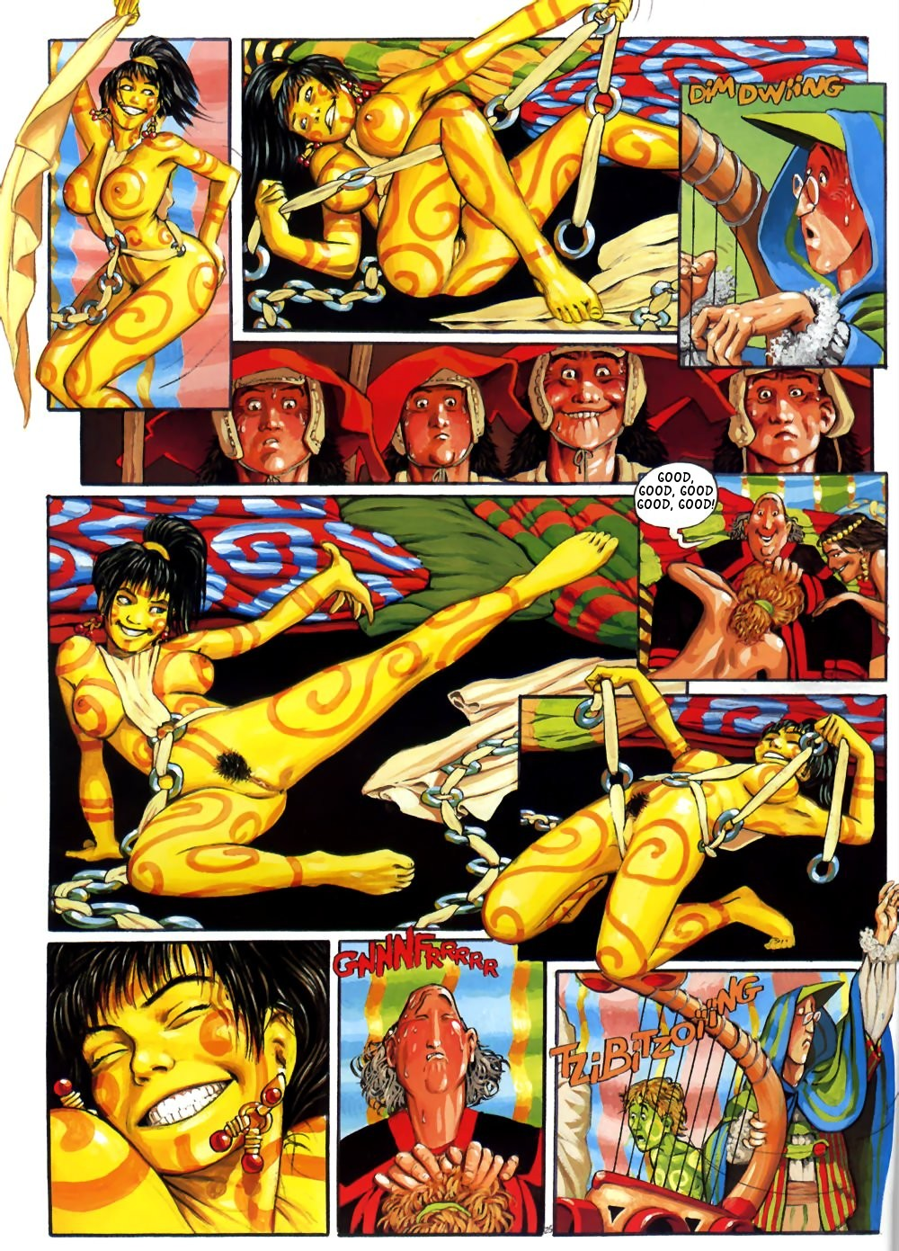 of feast nero the comic Corruption of champions tentacle dick