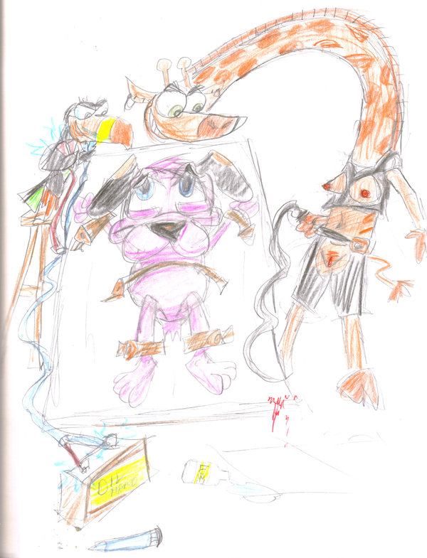 is my parter a gym monkey Five night at freddy's chica