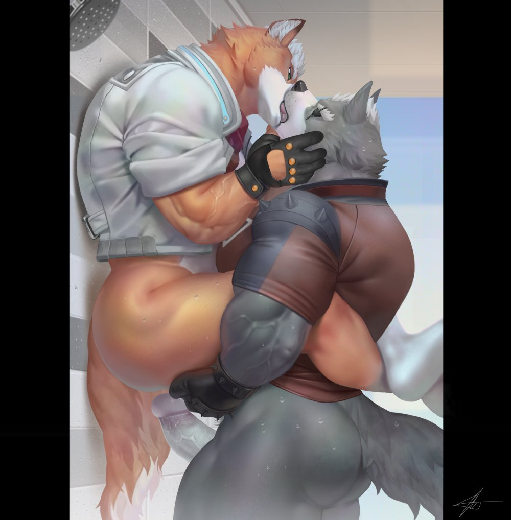 in and love fox furries wolf Ass up face down nude