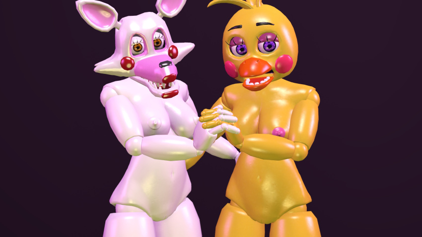 mangle chica x toy porn What is uniqua from backyardigans