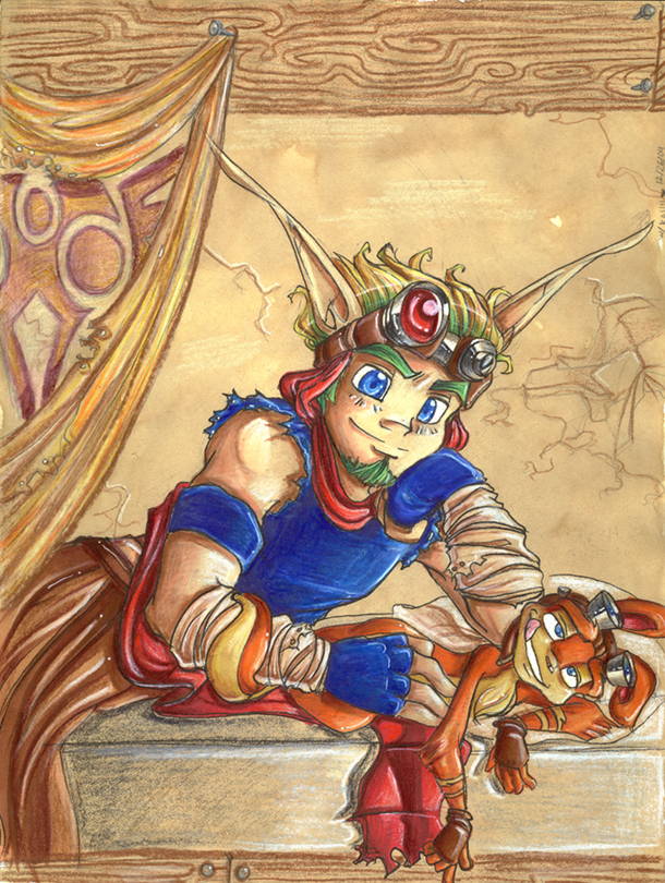 jak female and daxter characters How old is knuckles the enchilada