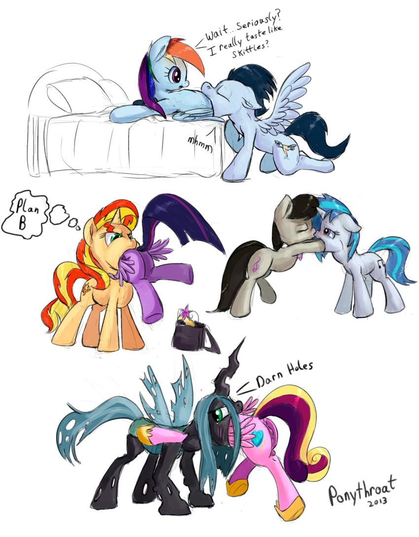 sparkle twilight sunset and shimmer Miss kitty great mouse detective