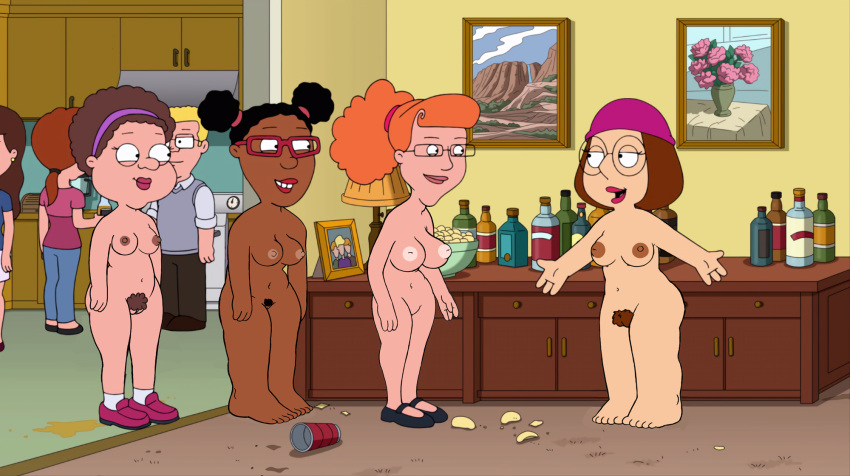 rules guy rules is family Naked marge from the simpsons